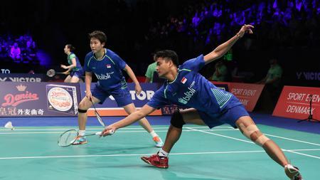 Tontowi Ahmad dan Liliyana Natsir gagal tembus final Denmark Super Series Premier 2017. - INDOSPORT