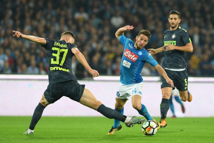 Napoli vs Inter Milan Copyright: Getty Images
