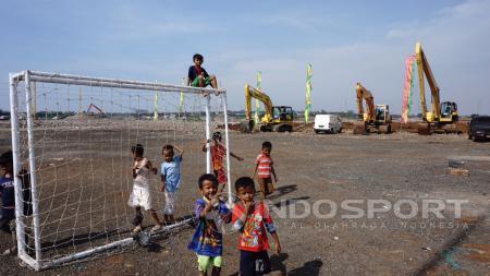 Kondisi Pembangunan Stadion BMW - INDOSPORT