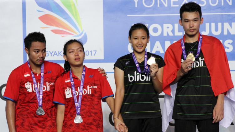 Indonesia Juara Umum BWF World Junior Championships 2017