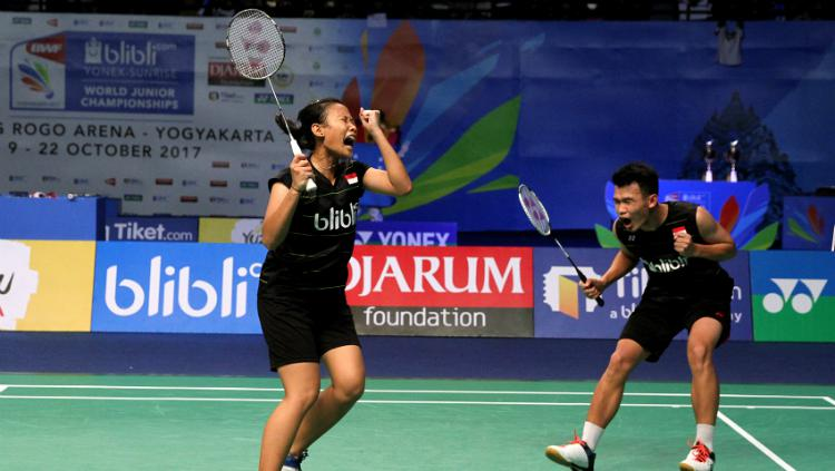 Rinov Rivaldy/Pitha Haningtyas Mentari. Copyright: Humas PBSI