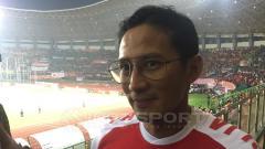 Indosport - Wakil Gubernur DKI Jakarta, Sandiaga Uno.