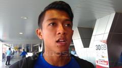 Indosport - Gelandang kanan Persib Bandung, Febri Hariyadi.