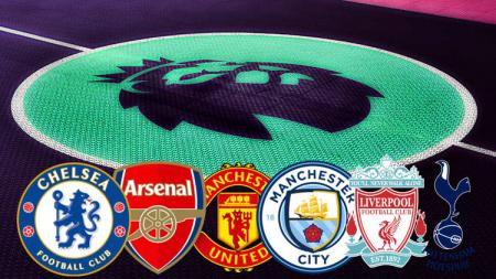 Arsenal, Chelsea, Liverpool, Man City, Man United, dan Tottenham Hotspur merupakan enam klub besar di Liga Primer Inggris. - INDOSPORT