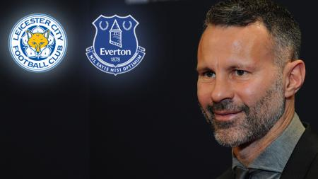 Ryan Giggs tertarik melatih Leicester City atau Everton. - INDOSPORT