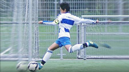 Bintang muda Indonesia, Richie Risnal, yang saat ini sedang menimba ilmu sepak bola di Belanda. - INDOSPORT