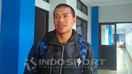 Pemain senior Persib Bandung, Tantan. - INDOSPORT