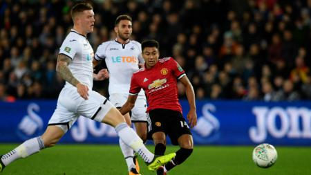 Swansea vs Manchester United. - INDOSPORT