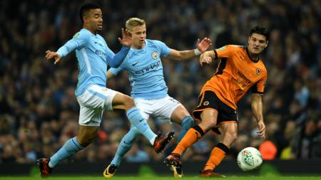 Manchester City vs Wolves. - INDOSPORT
