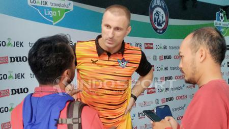 Sasa Zecevic ketika berkostum Persegres Gresik United. - INDOSPORT