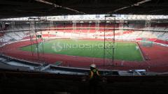 Indosport - Renovasi SUGBK sudah mencapai 91 persen