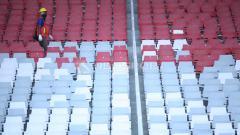Indosport - Deretan kursi di Stadion Utama Gelora Bung Karno.