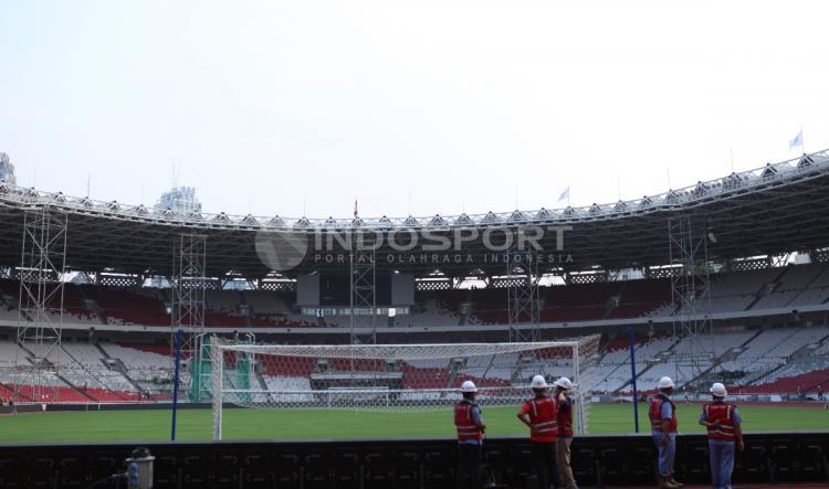 Renovasi SUGBK sudah mencapai 91 persen Copyright: Herry Ibrahim/Indosport.com