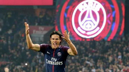 Pemain sepak bola Paris Saint-Germain, Edinson Cavani, tampaknya hanya ingin gabung ke klub LaLiga Spanyol, Atletico Madrid, di bursa transfer Januari 2020. - INDOSPORT