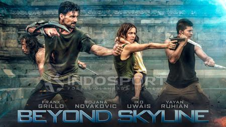 Poster Film Beyond Skyline. - INDOSPORT