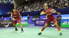 Indosport - Greysia Polii/Apriyani Rahayu, pebulutangkis ganda putri Indonesia.