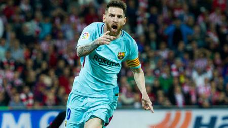 Lionel Messi Turut Menyumbang Angka Saat Barcelona Dijamu Bilbao. - INDOSPORT