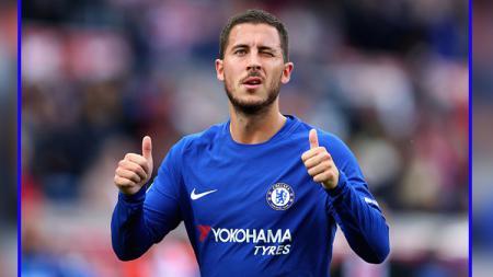 Eden Hazard, pemain megabintang Chelsea. - INDOSPORT