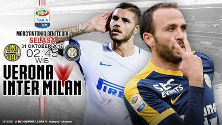 Prediksi Hellas Verona vs Inter Milan. - INDOSPORT
