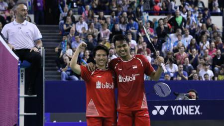 Tontowi Ahmad/Liliyana Natsir pastikan gelar French Open 2017. - INDOSPORT