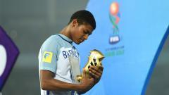 Indosport - Rhian Brewster menjadi top skor di Piala Dunia U-17.