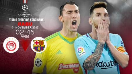 Prediksi Olympiakos vs Barcelona. - INDOSPORT