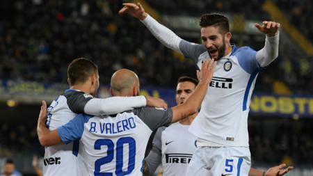 Hellas Verona vs Inter Milan. - INDOSPORT