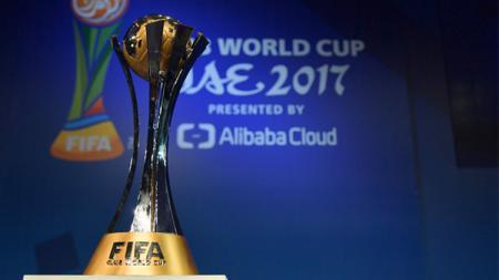 Trofi Piala Dunia Antarklub. - INDOSPORT