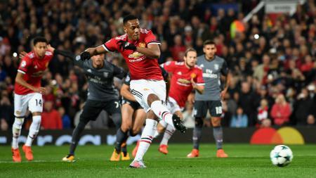 Manchester United vs Benfica. - INDOSPORT