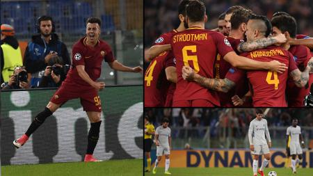 AS Roma vs Chelsea. - INDOSPORT