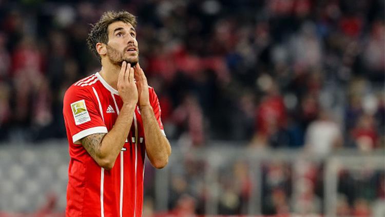 Pemain Bayern Munchen, Javi Martinez. Copyright: Getty Images