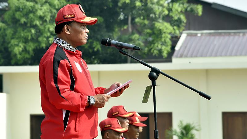 412 Atlet ikuti Kejurnas Atletik Piala Panglima TNI 2017. Copyright: Badarudin Puspen TNI
