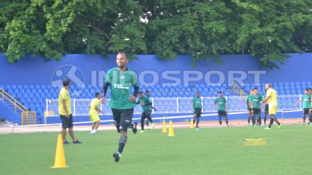 Nur Iskandar, pemain andalan Sriwijaya FC. - INDOSPORT