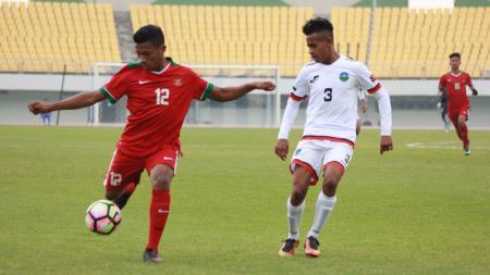 Indonesia U-19 vs Timor Leste U-19. - INDOSPORT