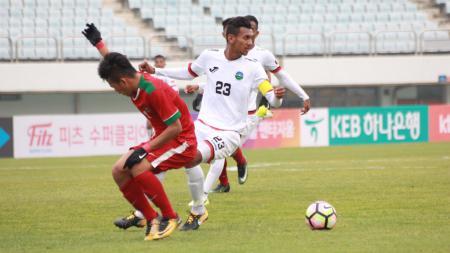 Profil singkat timnas Timor Leste U-19 yang akan menjadi lawan pertama timnas Indonesia U-19 pada kualifikasi Piala Asia U-19 2020 Grup K. - INDOSPORT