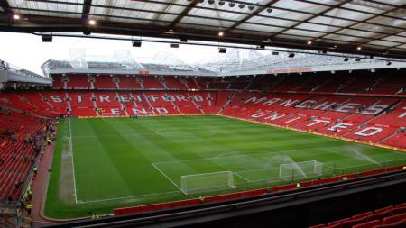 Stadion old Trafford, markas Manchester United. - INDOSPORT