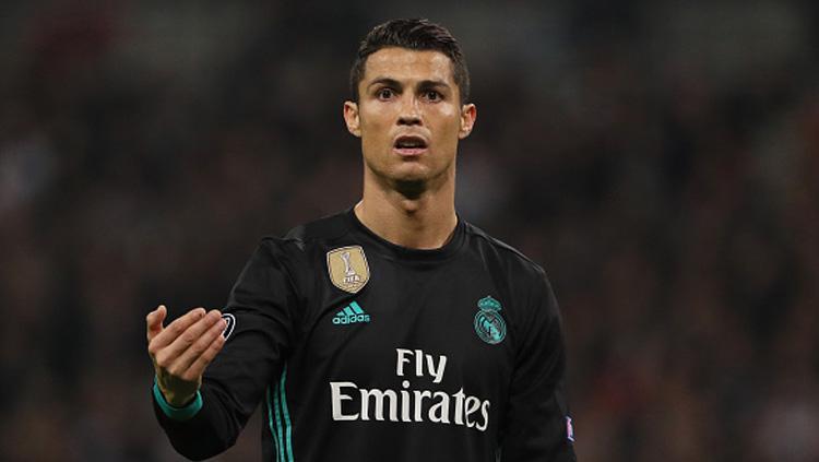 Cristiano Ronaldo, pemain megabintang Real Madrid. Copyright: INDOSPORT