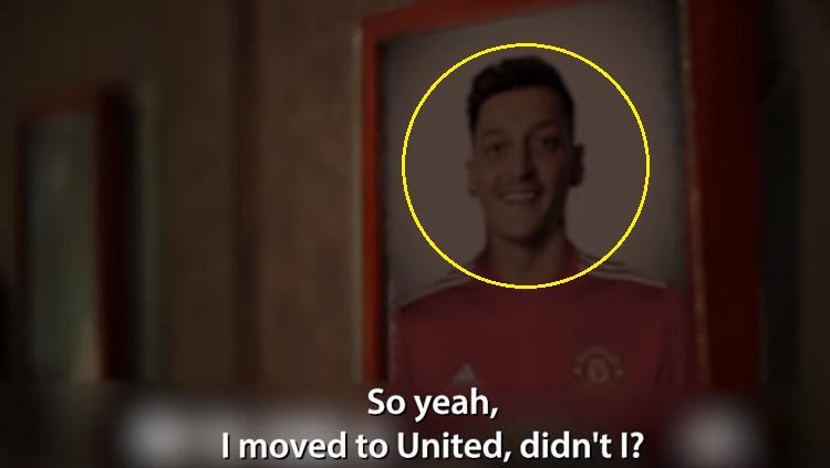 Mesut Ozil ke Manchester United? Copyright: Youtube