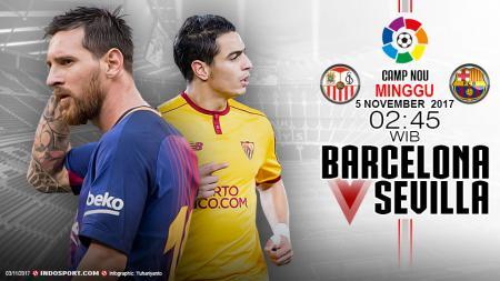 Prediksi Barcelona vs Sevilla. - INDOSPORT