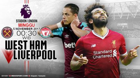 Prediksi West Ham vs Liverpool - INDOSPORT