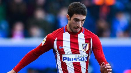 Sime Vrslajko, full-back kanan Atletico Madrid. - INDOSPORT