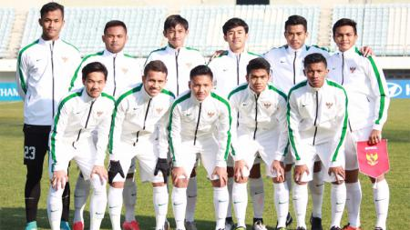 Skuat Timnas Indonesia U-19 vs Korea Selatan. - INDOSPORT