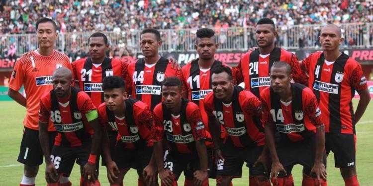 Persipura Jayapura di Liga 1 Copyright: https://www.bola.net