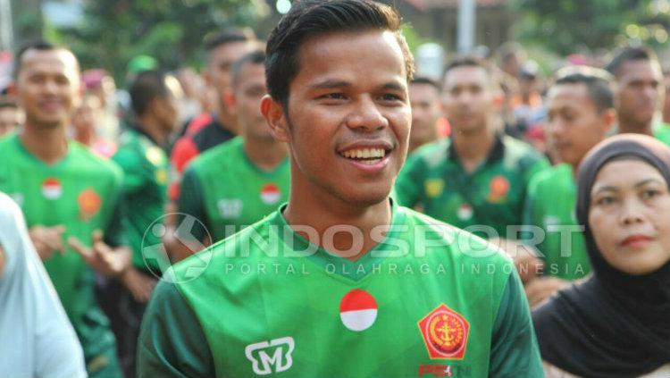 Manahati Lestusen Copyright: INDOSPORT/Zainal Hasan