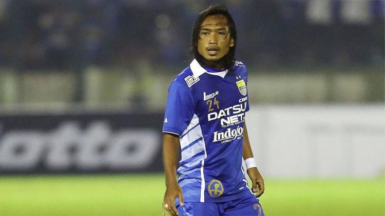 Pemain Persib Bandung, Hariono. Copyright: satupedia.com