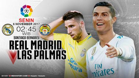 Prediksi Real Madrid vs Las Palmas - INDOSPORT