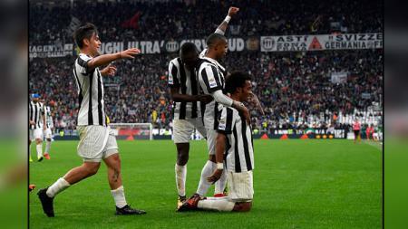 Selebrasi para pemain Juventus. - INDOSPORT