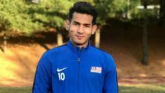 Indosport - Muhammad Hadi Fayyadh Abdul Razak, striker Malaysia U-19.