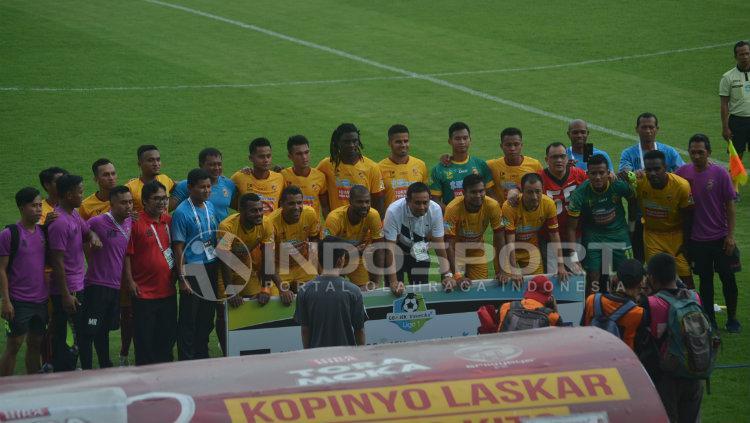 Skuat Sriwijaya FC Copyright: INDOSPORT/Muhammad Effendy