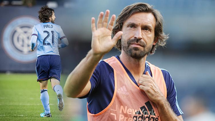 Andrea Pirlo. Copyright: Getty Images